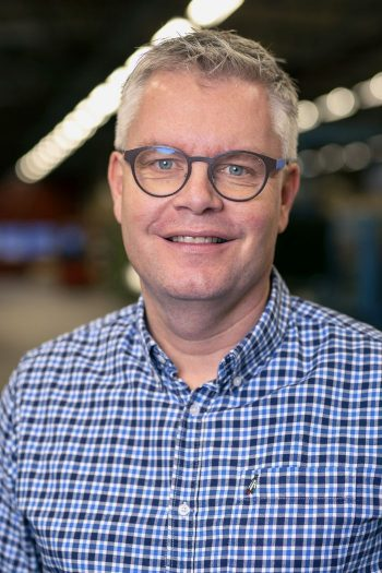 Personal på Östrand & Hansen: VD Mikael Ronder