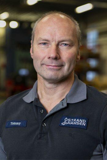Personal på Östrand & Hansen: Tommy Gudmundsson